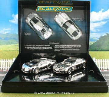 Scalextric C3169A Hypercars chromed Limited Edition