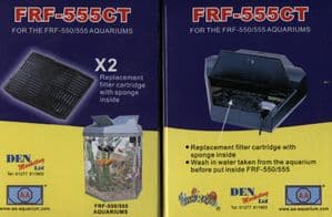 FRF-555 Spare Filter Cartridges Old Style