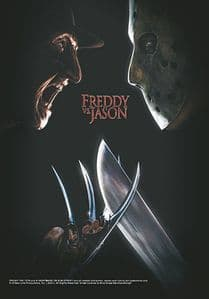 A Nightmare On Elm Street Freddy vs. Jason Large Fabric Poster/Flag 1050mm x 750mm (hr)