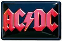 AC/DC embossed Steel Sign 300mm x 200mm     (lsh)