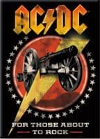 AC/DC For Those About To Rock fridge magnet  (nm)