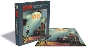 AC DC Let There Be Rock 500 piece jigsaw puzzle 410mm x 410mm (ze)