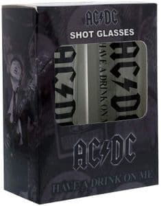 AC/DC Set of Two Shot Glasses (rz)