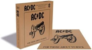 ACDC For Those About To Rock 500  piece jigsaw puzzle 410mm x 410mm (ze)