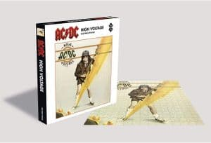 ACDC High Voltage 500  piece jigsaw puzzle 410mm x 410mm (ze)
