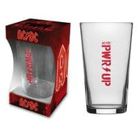 ACDC Pwr Up Pint/ Beer Glass (rz)