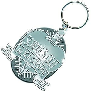 Alice Cooper Schools Out metal keyring     (ro)