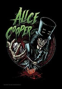 Alice Cooper Top Hat large fabric poster / flag 1100mm x 750mm (hr)