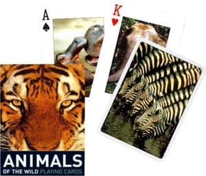 Animals of the Wild set of playing cards    (gib)