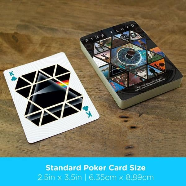 Art of Pink Floyd set of 52 playing cards    (nm)