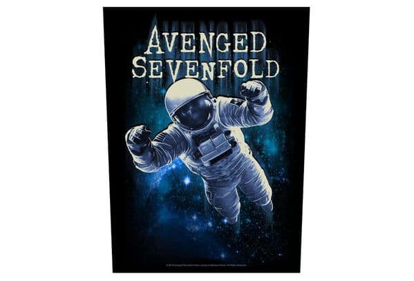 Avenged Sevenfold Astronaut sew-on cloth backpatch 360mm x 300mm (rz)