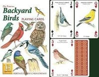 Backyard Birds (North American) set of 52 playing cards (+ jokers)    (hpc)