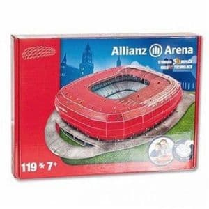 Bayern Munich Allianz Arena 3D jigsaw puzzle  RED (Bayern colour) (kog)