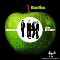 Beatles Something / Come Together drinks mat / coaster    (ro)