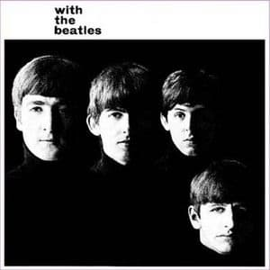 Beatles With The Beatles LP Cover Steel Sign    (ro)
