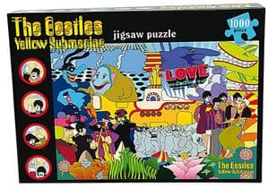 Beatles Yellow Submarine 1000 piece jigsaw puzzle 680mm x 480mm  (pl)