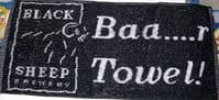 Black Sheep Brewery Bar Towel   (pp)