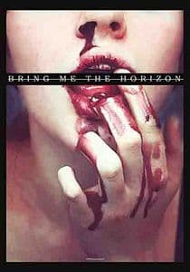 Bring Me The Horizon  Blood Lust  large fabric poster / flag 1100mm x 750mm (hr)