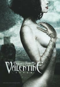 Bullet For My Valentine Fever Large Fabric Poster/Flag 1050mm x 750mm (hr)