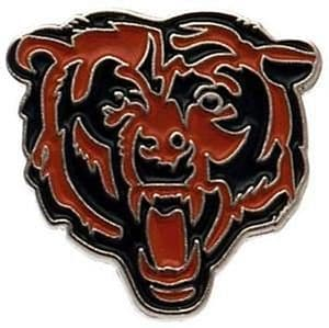 Chicago Bears  metal / enamel pin badge    (bst)