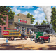 Coca Cola All Aboard 1000 piece jigsaw puzzle 762mm x 610mm  (sk)