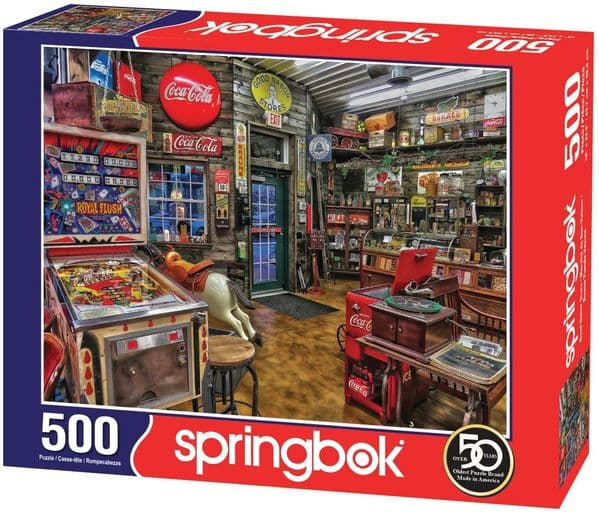 Coca Cola Good Nabor Store 500 piece jigsaw puzzle 596mm x 457mm  (sk)