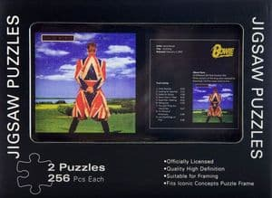 David Bowie Earthling Double Jigsaw Puzzle In Tin (icc)