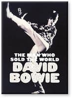 David Bowie Man Who Sold The World fridge magnet  (nm)