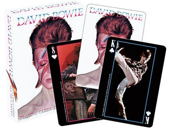 David Bowie set of 52 playing cards (+ jokers)  (nm)