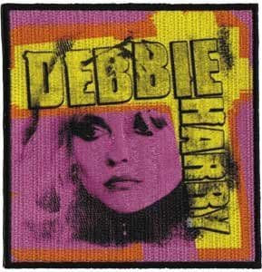 Debbie Harry Pink iron-on / sew-on patch  (SQ)