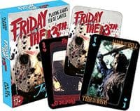 Friday 13th movie standard set of 52 playing cards + jokers
