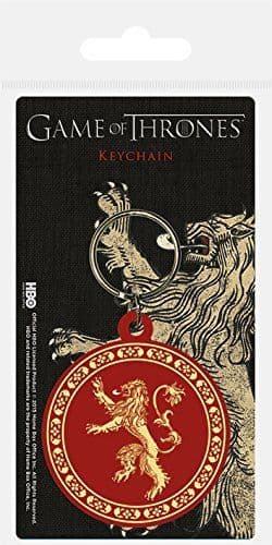 Game Of Thrones House Lannister Flexible PVC Keyring (bst)