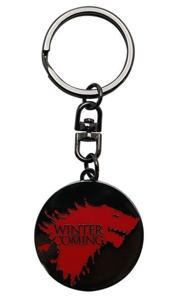 Game Of Thrones Winter Is Coming Metal Keyring (aby)