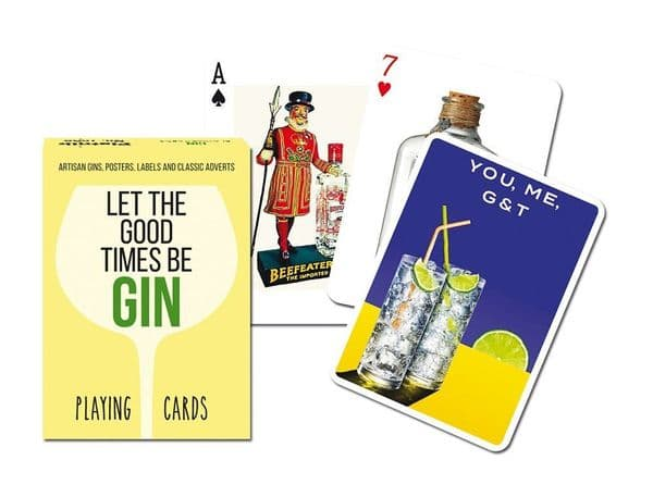 Gin (Let The Good Times) set of playing cards + jokers    (gib)
