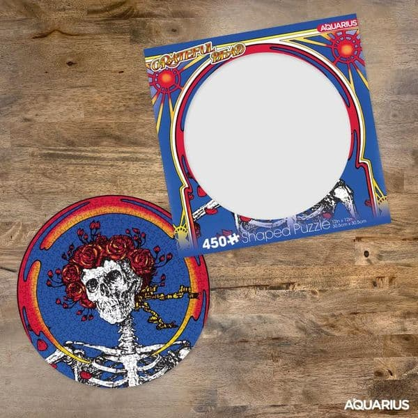 Grateful Dead Terrapin Station 450 piece round disc jigsaw puzzle 305mm x 305mm (nm)