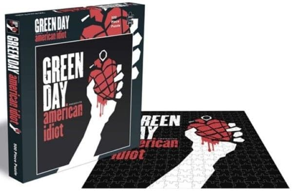 Green Day American Idiot 500 pc jigsaw puzzle 390mm x 390mm (ze)