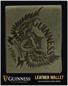 Guinness Wings Grey Leather Wallet (sg)