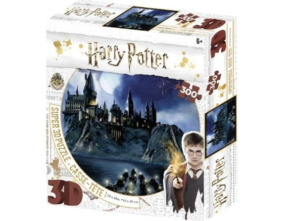 Harry Potter Boats Arriving at Hogwarts 300 Piece 3D-Look jigsaw puzzle (kc)