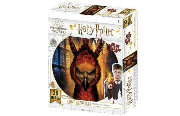 Harry Potter Fawkes 300 Piece 3D-Look jigsaw puzzle (kc) (HP33009)