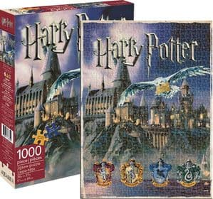 Harry Potter Hogwarts 1000 piece jigsaw puzzle   690mm x 510mm   (nm)