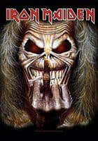 Iron Maiden Eddie The Finger Candle large fabric poster / flag 1100mm x 750mm (hr)
