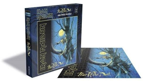 Iron Maiden Fear of the Dark 500 pc jigsaw puzzle 390mm x 390mm (ze)