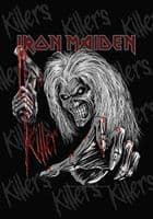 Iron Maiden Killer large fabric poster / flag 1100mm x 750mm (hr)
