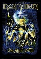 Iron Maiden Live After Death large fabric poster / flag 1100mm x 750mm (hr)