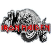Iron Maiden Number of the Beast  metal pin badge    (ro)