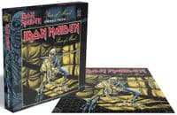 Iron Maiden Piece of Mind Puzzle 500 pc jigsaw puzzle 410mm x 410mm (ze)