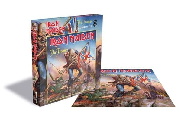 Iron Maiden The Trooper 1000 pc jigsaw puzzle 570mm x 570mm (ze)