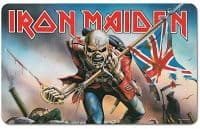 Iron Maiden The Trooper Single Chopping Board/ Placemat 240mm x 140mm (lsh)
