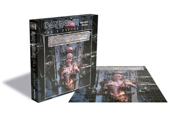 Iron Maiden The X Factor 500 pc jigsaw puzzle 390mm x 390mm (ze)