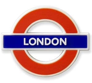 London Underground Sign,   London , Rubber Fridge Magnet (GWC)